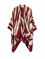 Недорогие -Жен. Классический Прямоугольный платок Контрастных цветов