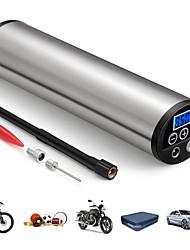 Недорогие -150psi мини инфлятор электрический портативный автомобильный велосипедный насос электрический авто воздушный компрессор насосы ес разъем с жк-дисплеем