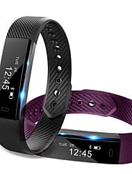 Недорогие -ID115 Универсальные Умный браслет Android iOS Bluetooth Спорт Сенсорный экран Израсходовано калорий Длительное время ожидания Регистрация деятельности / Датчик для отслеживания активности / будильник
