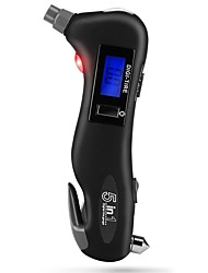 Недорогие -цифровой манометр давления в шинах фонарик стеклоподъемник ремня безопасности аварийный