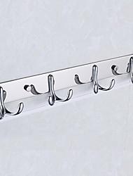 billige -Krok Kreativ / Multifunktion Moderne Rustfritt Stål 1pc Vægmonteret