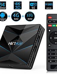 Недорогие -hk1 play s90x2 4 ГБ / 32 ГБ android 9.0 четырехъядерный 64-битный ТВ-бокс с цифровым дисплеем 4K HD TV Box