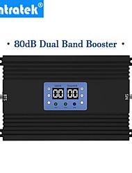 Недорогие -Lintratek 80 дБ с высоким коэффициентом усиления GSM 3G UMTS 2100 МГц 900 МГц мобильный повторитель сигнала AGC MGC сотовый телефон 3G усилитель