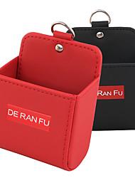 Недорогие -Салон автомобиля воздуховыпускной ящик для хранения сотовый телефон карман укладка приборная кожа вентиляционный органайзер для мобильного телефона