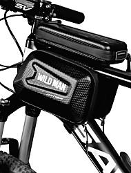 Недорогие -Сотовый телефон сумка Бардачок на раму 5.8 дюймовый Велоспорт для Велосипедный спорт Черный Складной велосипед Велосипеды для активного отдыха Односкоростной велосипед