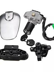 Недорогие -выключатель зажигания мотоцикла сиденье крышка топливного газа замок&усилитель; 2 ключа для Suzuki en 125