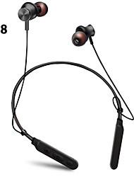 billige -LITBest M8 Nakkebåndshodetelefon Trådløs Sport og trening Bluetooth 5.0 Stereo