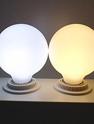Недорогие -6 шт. Молочно-белый шар свет лампы 7 Вт G80 светодиодные стеклянные лампы450 лм E26 / E27 база светодиодные лампочки