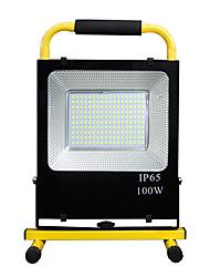 Недорогие -1шт 100 W / 150 W LED прожекторы / Фонарь Водонепроницаемый / Новый дизайн Белый 85-265 V Уличное освещение 180-220 Светодиодные бусины