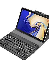 Недорогие -блютуз клавиатура&усилитель; чехол для samsung galaxy tab s4 10.5 модель 2018 sm-t830 / t835 / t837