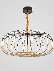 Недорогие -CONTRACTED LED® Фонариком Люстры и лампы Торшер Металл LED 110-120Вольт / 220-240Вольт
