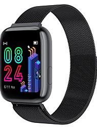 Недорогие -Смарт Часы Цифровой Современный Спортивные 30 m Защита от влаги Пульсомер Bluetooth Цифровой На каждый день На открытом воздухе - Черный Золотистый Синий