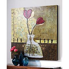 Kézzel festett Csendélet Egy elem Vászon Hang festett olajfestmény For lakberendezési
