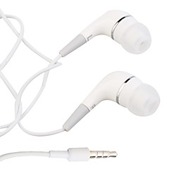 In Ear Wired Headphones Plastic Mobile Phone Earphone Noise-isolating Headset