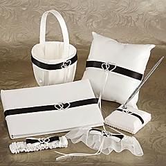 cheap Wedding Collection Sets-Garden Theme Collection Set 53 Crystal Ribbons Satin Organza