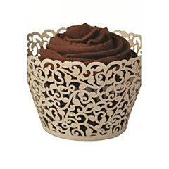 Creative Card Paper Favor Holder With Cupcake Wrapper and Boxes-12