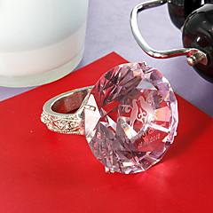 personlized kristal servetring