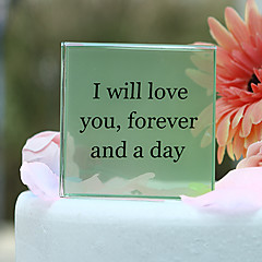 cheap Cake Toppers-Cake Topper Garden Theme Classic Couple Crystal Wedding Anniversary Bridal Shower With Gift Box