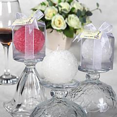gyönyörű rózsabogár gyertya (több szín) elegáns esküvői kedvezmények