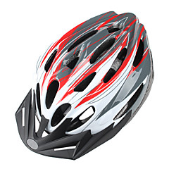 cheap Bike Helmets-Others Unisex Mountain / Road Bike helmet 24 Vents Cycling Cycling / Mountain Cycling / Road Cycling Green / Red / Blue / Gold / Orange