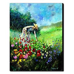 kézzel festett olajfestmény emberek 1211-pe0062