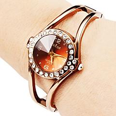 Pentru femei Ceas La Modă Ceas Brățară Quartz Aliaj Bandă Sclipici Brățară rigidă Elegant Bronz