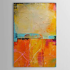 Hånd-malede Abstrakt Vertikal,Traditionel Klassisk Et Panel Hang-Painted Oliemaleri For Hjem Dekoration