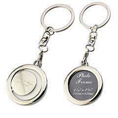 billiga Gåvor till bröllopsgästerna-Personifierat fotoram nyckelring (Set of 6)