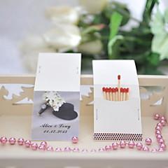 Χαμηλού Κόστους Εξατομικευμένα Σπιρτόκουτα-Γάμου / Πάρτι Υλικό Hard Card Paper Διακόσμηση Γάμου Θέμα Κήπος / Γάμος Όλες οι εποχές