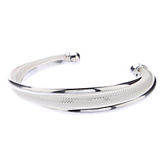 Z&X®  925 Sterling Silver Plated Bun Bracelet Christmas Gifts