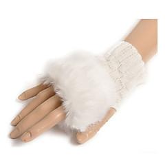 yün bilek uzunluğu eldiven genel amaçlı& iş eldivenleri zarif stili