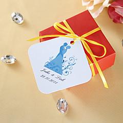 "billige Klistremerker og etiketter-Hage Tema Klistremerker, etiketter og tags - 36 Rund Kvadrat 2"" Diamant Unik bryllupsdekor Merker"
