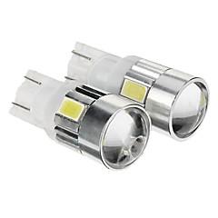 T10 Soğuk Beyaz 1W SMD 5730 6000 Gösterge Işıkları Plaka Aydınlatma Lambası Sinyal Lambası Fren Işığı