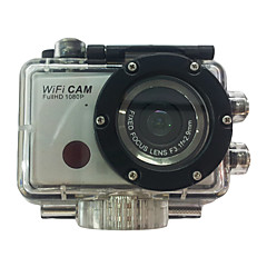 Sports Action Camera 5MP 3264 x 2448 WiFi Waterproof USB CMOS 32 GB H.264 50 M Universal