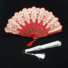 cheap Fans & Parasols-Special Occasion Fans and Parasols Wedding Decorations Asian Theme Floral Theme Summer