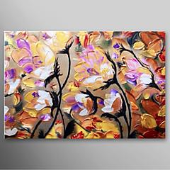 iarts®hand festett olajfestmény absztrakt késsel festett virágok feszített keret készen áll, hogy lefagy