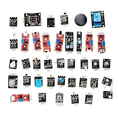 cheap -DIY 37-in-1 Sensor Module Kit for Arduino (Works with Official Boards)