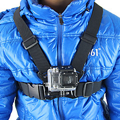 cheap Accessories For GoPro-Chest Harness For Action Camera Gopro 5 Gopro 4 Black Gopro 4 Session Gopro 4 Silver Gopro 4 Gopro 3 Gopro 3+ Gopro 2 Gopro 1 SJCAM