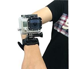 tanie Kamery sportowe i akcesoria GoPro-Paski na rękę / Wodoszczelna obudowa / Wiązanie Wodoodporne Dla Kamera akcji Gopro 4 / Gopro 4 Silver / Gopro 4 Session Włókienniczy / Plastikowy / Gopro 3 / Gopro 2 / Gopro 3+