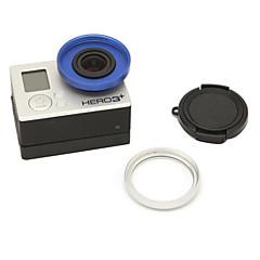 tanie Kamery sportowe i akcesoria GoPro-Příslušenství Nakładka na obiektyw Wysoka jakość Dla Action Camera Sport DV Stop aluminium