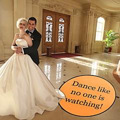 voordelige Huwelijksceremonie-Bruiloft PVC Gemengd Materiaal Bruiloftsdecoraties Tuin Thema / Klassiek Thema Winter Lente Zomer Herfst Alle seizoenen
