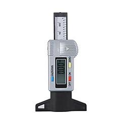 Digitaalinen LCD Renkaiden Renkaiden syvyysmittaustoiminnon 0-25.4mm
