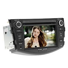 billiga DVD-spelare till bilen-7inch 2 DIN in-dash bil dvd-spelare för Toyota RAV4 2006-2012 med gps, bt, ipod, rds, fm, tv