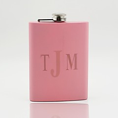 cheap Bridesmaid Gifts-Bride Bridesmaid Couple Parents Stainless Steel Hip Flasks Wedding Anniversary Birthday Housewarming Congratulations Graduation Thank You