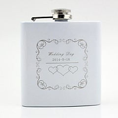 Couple Stainless Steel Hip Flasks Wedding Wedding Gifts Beautiful