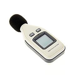 tanie Testery i detektory-30 ~ 130dBA LCD cyfrowy miernik poziomu dźwięku hałasu Ciśnienie Tester Monitora Decibel