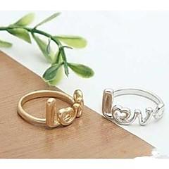 billiga -Dam Legering Bandring - Mode Silver Brun Ringa Till Bröllop Party Dagligen Casual Sport
