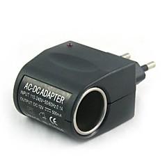 저렴한 -100v-240v ac ~ 12v dc 전원 라이터 (eu 플러그) 자동차 충전기
