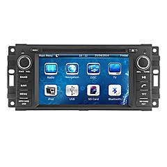 """olcso -cusp® 6.2 """"2 din autó DVD-lejátszó 2007-2010 jeep / parancsnoka / csikós a Bluetooth, GPS, iPod, RDS, CAN-BUS"""