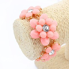 cheap Bracelets-Women's Chain Bracelet Fashion Resin Alloy Jewelry Daily Costume Jewelry